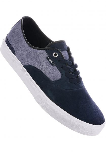 C1RCA Alle Schuhe Kingsley bluenights-white Vorderansicht