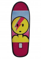 Prime Verschiedenes Lance Mountain X Jason Lee Dough Bowie Board Lapel Pin pink Vorderansicht
