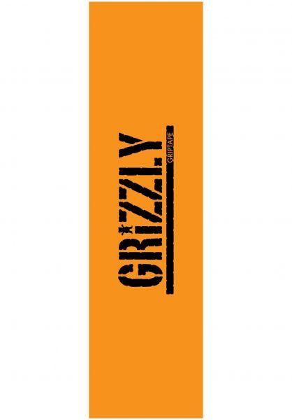 Grizzly Griptape Stamped Necessities orange vorderansicht 0142650