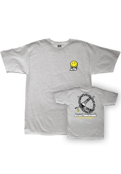 Loser-Machine T-Shirts Cruisin heathergrey vorderansicht 0320842