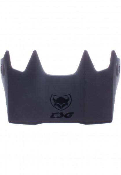 TSG Diverse Schoner Advance Visor ABS black Vorderansicht
