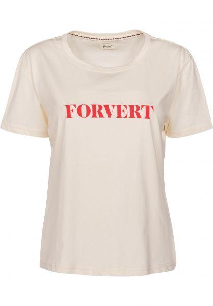 Forvert T-Shirts Dodo beige Vorderansicht