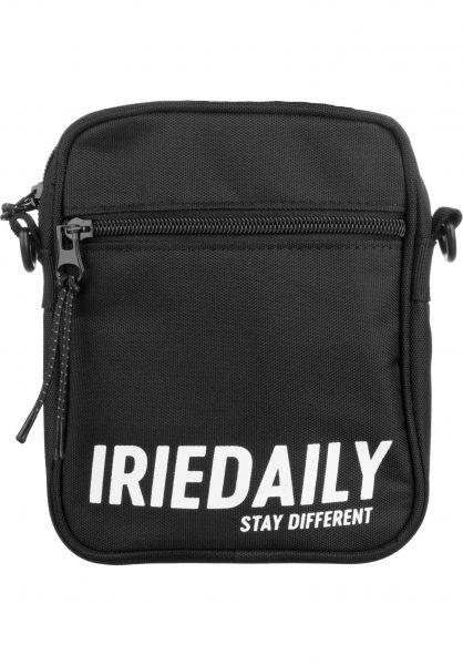 iriedaily Taschen Team Side Bag black Vorderansicht