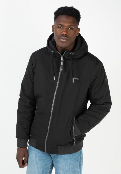Ragwear Winterjacken Maddy black 320 vorderansicht 0250281