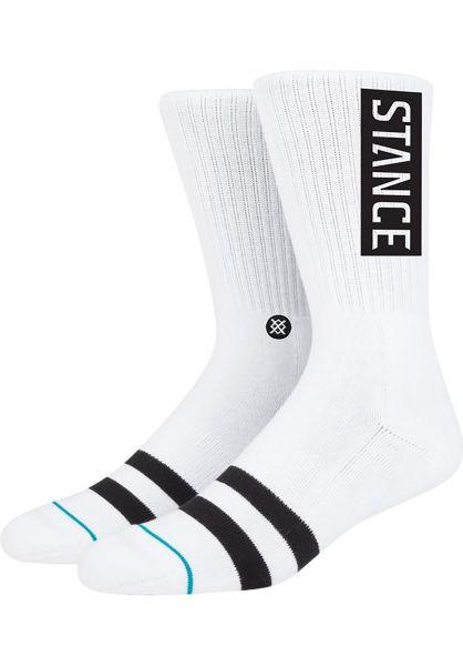 Stance Socken OG white vorderansicht 0631580