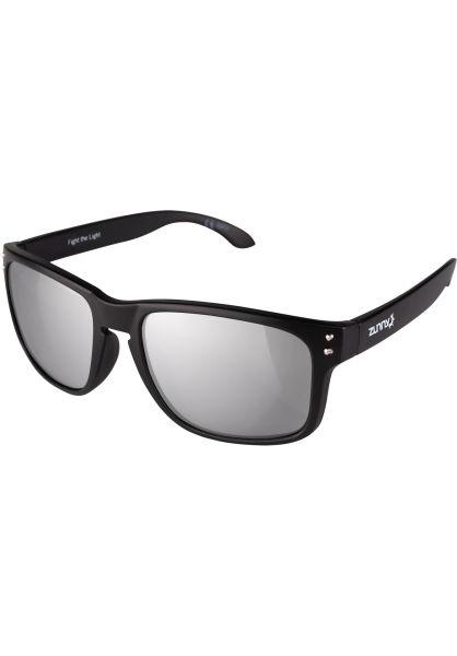 Zunny Sonnenbrillen Std. Sporty black-silver vorderansicht 0590429