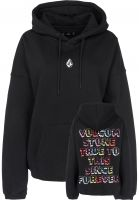Volcom Hoodies Roll it up black Vorderansicht