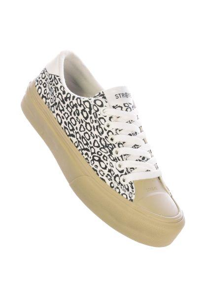 Straye Alle Schuhe Stanley cheetah-white vorderansicht 0612536
