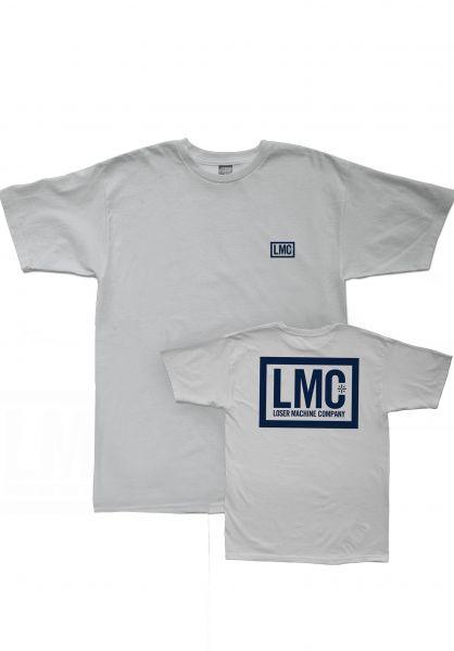 Loser-Machine T-Shirts Hardline silver vorderansicht 0396582