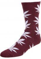 HUF Socken Plantlife Crew Sock portroyale vorderansicht 0630394