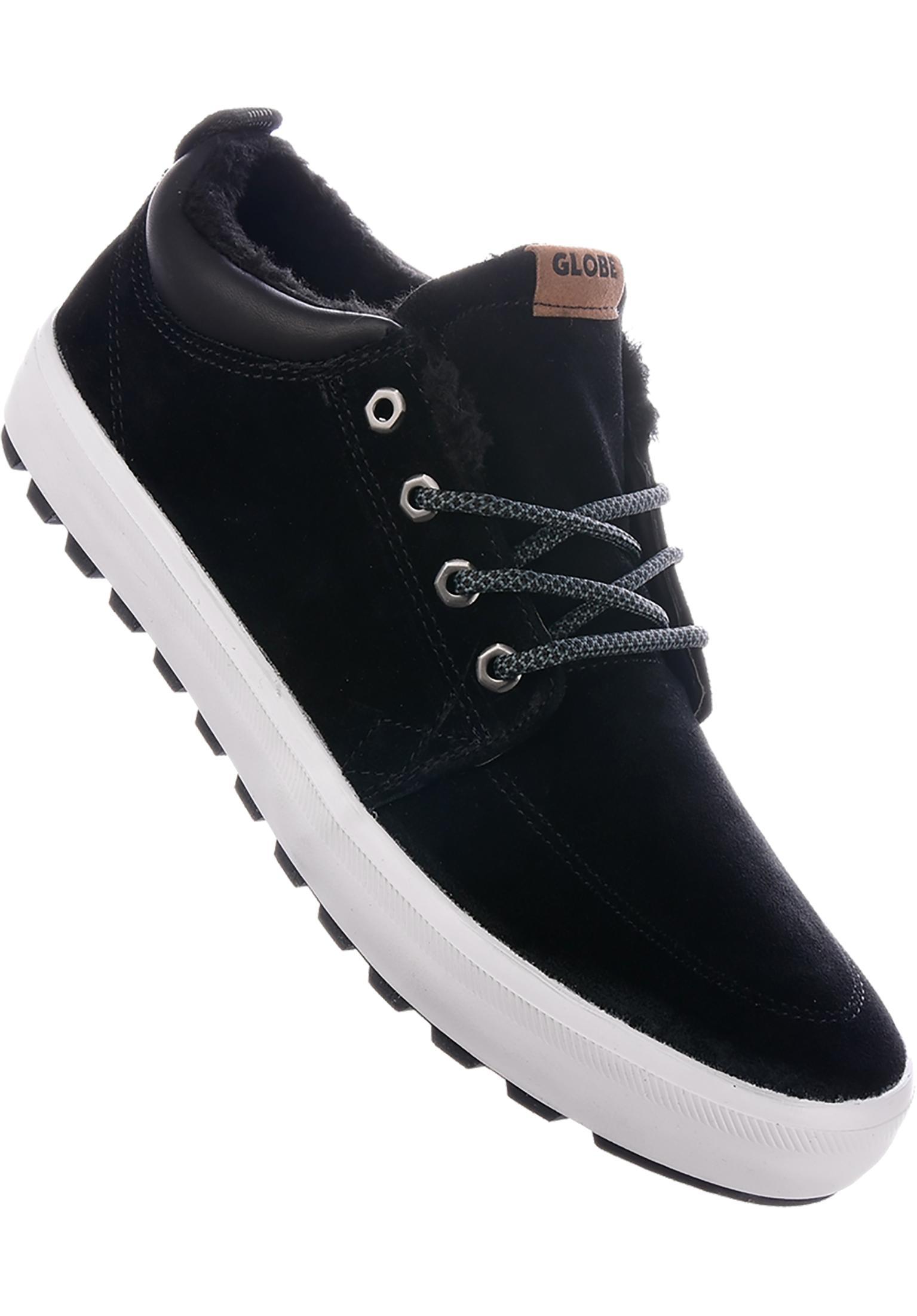72694fc31f6 GS Chukka Fur Globe All Shoes in black-white for Men