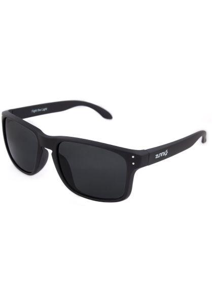 Zunny Sonnenbrillen Std. Sporty black-black-black vorderansicht 0590429