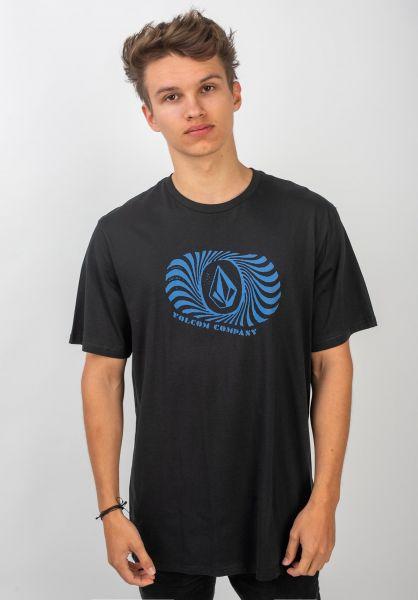 Volcom T-Shirts Digit FTY black vorderansicht 0320360
