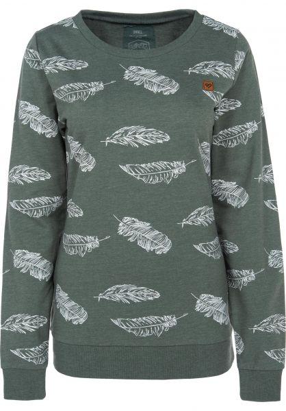 TITUS Sweatshirts und Pullover Lightweight petrolmottled Vorderansicht
