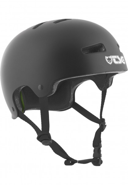 TSG Helme Evolution Solid Colors satin-black Vorderansicht