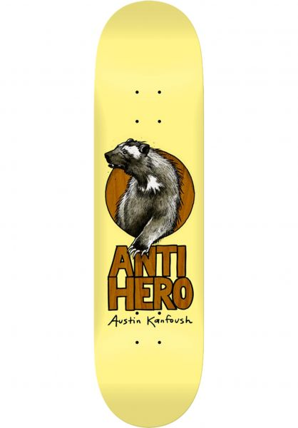 Anti-Hero Skateboard Decks Kanfoush Scavengers cream vorderansicht 0263635