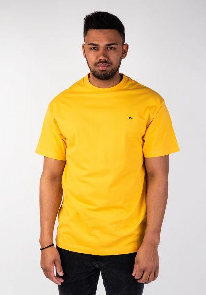 Emerica T-Shirts Mini Icon gold vorderansicht 0320011