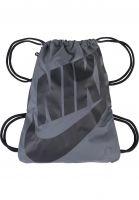 Nike SB Taschen Heritage Gym Sack darkgrey-black-black Vorderansicht
