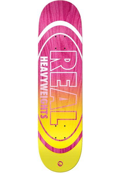 Real Skateboard Decks Team Heavyweights pink vorderansicht 0261564