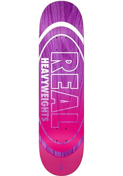 Real Skateboard Decks Team Heavyweights violet vorderansicht 0261564