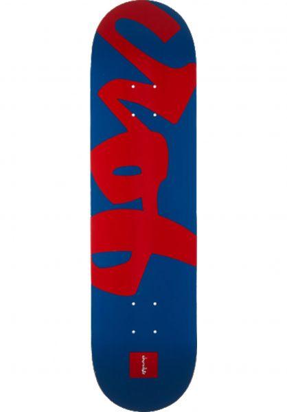 Chocolate Skateboard Decks Roberts Nickname Crob blue-red Vorderansicht