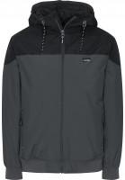 iriedaily Winterjacken Insulaner Jacket anthracite Vorderansicht