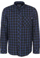 Carhartt WIP Hemden langarm Lanark Flannel lanarkcheck-bottlegreen vorderansicht 0411886