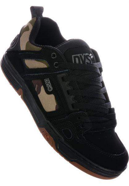 DVS Alle Schuhe Comanche black-camo vorderansicht 0603386