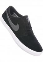 Nike SB Alle Schuhe Solarsoft Portmore II black-darkgrey-white Vorderansicht