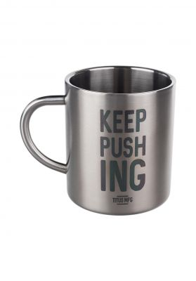 TITUS Verschiedenes KEEP PUSHING Mug