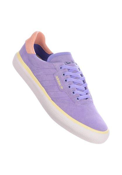 adidas Alle Schuhe 3MC x Nora lightpurple-glowpink-mistsun vorderansicht 0612524