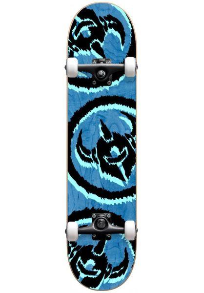 Darkstar Skateboard komplett Dissent FP Premium blue vorderansicht 0162660