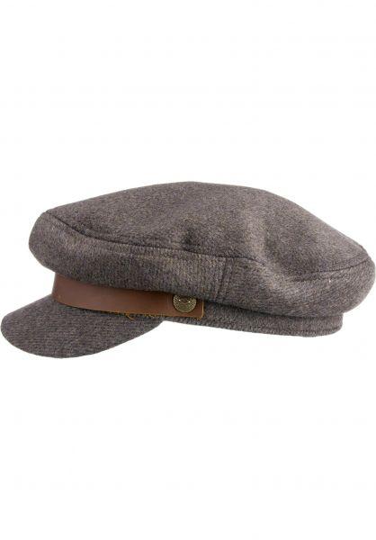 Brixton Hüte Fiddler brown-grey vorderansicht 0580162