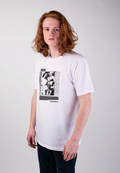 Altamont T-Shirts Smoked white vorderansicht 0383225