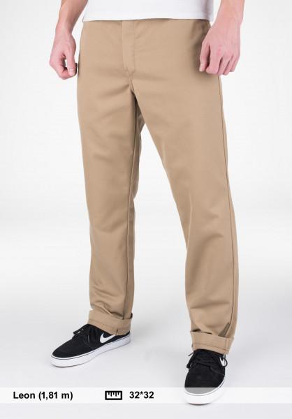Carhartt WIP Chinos und Stoffhosen Master Pant (Denison) leather-rinsed Vorderansicht