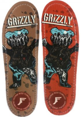 Footprint Insoles Kingfoam Orthotic Grizzly x FP Collab