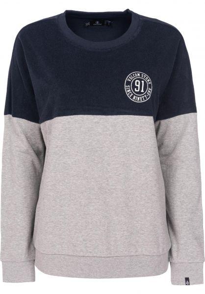 Volcom Sweatshirts und Pullover Blocking seanavy Vorderansicht
