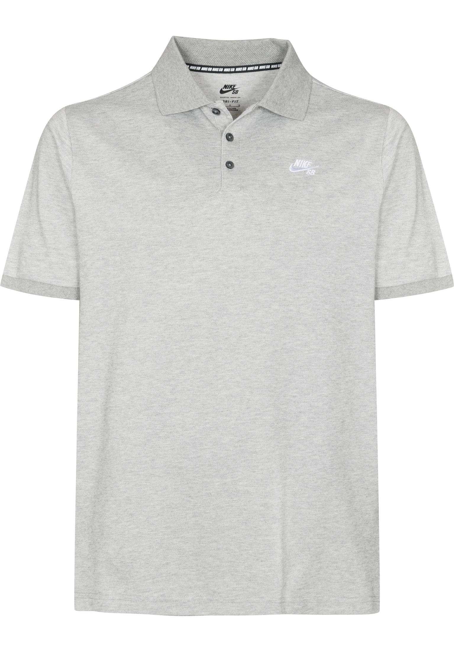 DFT Pique Nike SB Polo Shirts in darkgreyheather for Men  8ead79cfc3e08