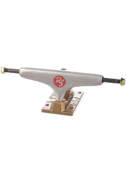 Film Achsen Roller Surfer 5.25 silver-gold vorderansicht 0122994