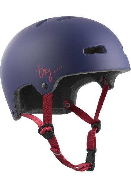 TSG Helme Ivy Women Solid Color satin grape Vorderansicht