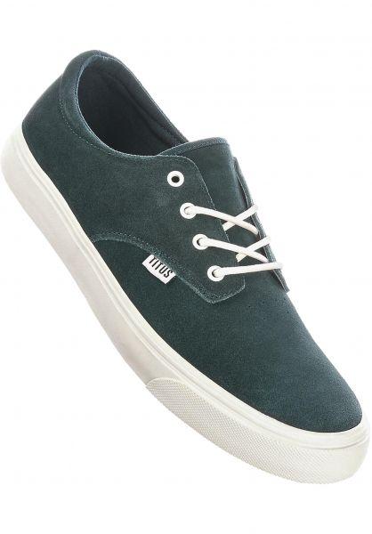 TITUS Alle Schuhe Clubman PRM spruce-white vorderansicht 0604302