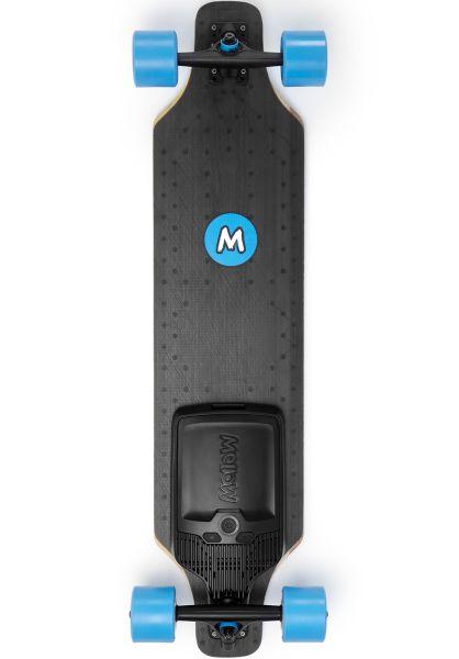 Mellow Boards Longboards komplett Mellow Drive Surfer black vorderansicht 0194297