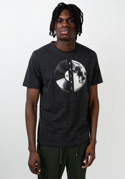 Rules T-Shirts Janek darkgreymottled vorderansicht 0398515