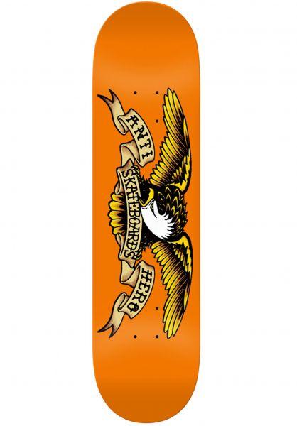 Anti-Hero Skateboard Decks Classic Eagle orange vorderansicht 0118797