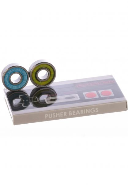 Pusher Bearings Kugellager Jatta Pro blue vorderansicht 0180366