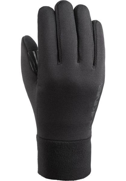 DaKine Handschuhe Storm Liner black vorderansicht 0117137