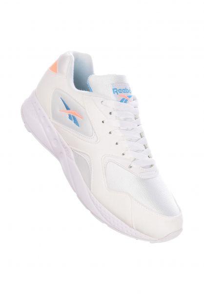 Reebok Alle Schuhe Torch Hex white-sunglow-cyan vorderansicht 0612514