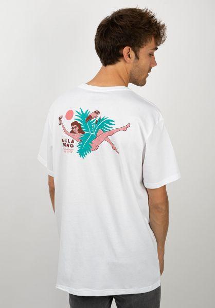 Billabong T-Shirts Salud white vorderansicht 0320674