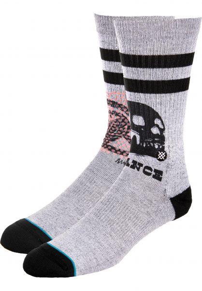 Stance Socken Oblow Snake grey Vorderansicht