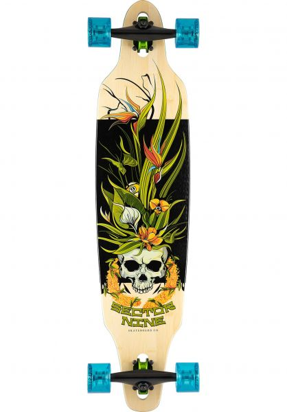 Sector-9 Longboards komplett Lei Lookout paradise-bamboo vorderansicht 0194404